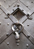 Heurtoir de porte sur la cathédrale de Prague Photographie stock