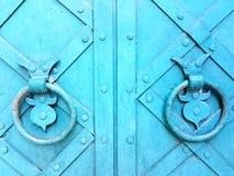 Heurtoirs de porte antiques photo stock