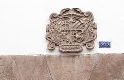 Heurtoirs de porte, Cusco, Pérou images stock