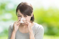 Heuschnupfen, Allergie, Grippe Lizenzfreies Stockfoto