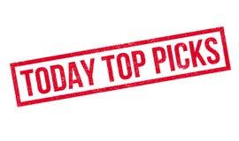 Heute wählt Spitze Stempel aus lizenzfreie stockfotos