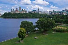 Heuvel 2 van het Parlement Stock Afbeelding