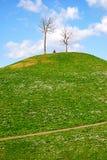 Heuvel royalty-vrije stock fotografie