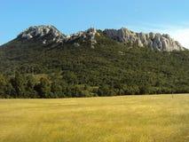 Heuvel in Adriatische overzees Royalty-vrije Stock Afbeeldingen