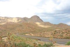 Heuvel in Arizona Stock Foto's