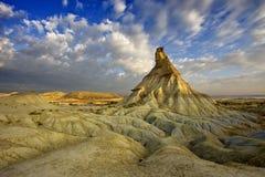 Heuvel in de woestijn Stock Afbeeldingen