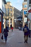 Heuvel gallery entrance. Royalty Free Stock Images
