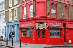 Heuvel Londen - Notting Royalty-vrije Stock Fotografie
