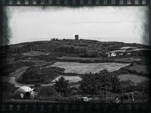 Heuvel met het letten op toren Royalty-vrije Stock Afbeelding