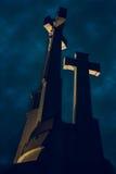 Heuvel van Drie Kruisen, Vilnius Stock Afbeeldingen