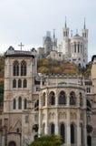 Heuvel van Fourviere Royalty-vrije Stock Foto
