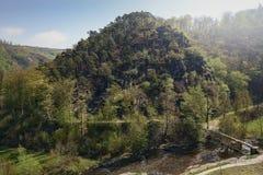 Heuvel van het kasteel Stock Afbeeldingen
