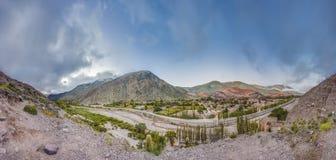 Heuvel van Zeven Kleuren in Jujuy, Argentinië Royalty-vrije Stock Afbeeldingen