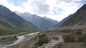 Heuvelpost in Himachal Pradesh royalty-vrije stock afbeeldingen