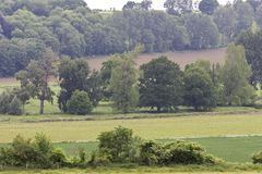 Heuvels Limbourg, λόφοι Limbourg στοκ φωτογραφίες με δικαίωμα ελεύθερης χρήσης