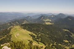 Heuvels rond schneeberg Stock Foto
