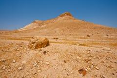 Heuvels van Samaria Stock Afbeelding