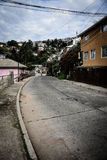 Heuvels van valparaiso Stock Afbeeldingen