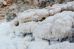 Heuvels van zout Royalty-vrije Stock Foto
