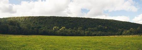 Heuvelspanorama Royalty-vrije Stock Afbeelding