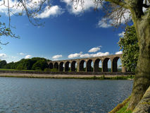 Hevenden viaduct. Near Cullingworth - Yorkshire Royalty Free Stock Photo