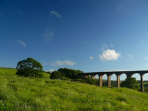 Hevenden viaduct Royalty Free Stock Images