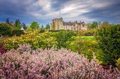 Hever城堡和庭院在肯特 免版税图库摄影