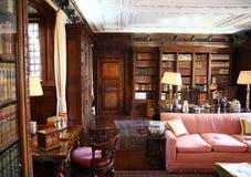 HEVER城堡和庭院,肯特,英国 免版税库存图片