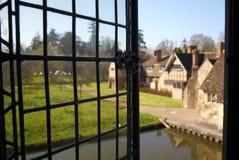 HEVER城堡和庭院,肯特,英国 库存图片