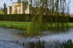 Hever城堡在肯特英国 免版税库存照片