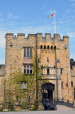 Hever城堡在肯特英国 免版税图库摄影