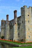 Hever城堡在肯特英国 库存图片