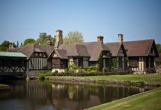 Hever城堡,肯特,英国 免版税图库摄影