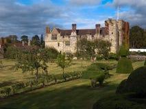 HEVER, KENT/UK - 9月16日:Hever城堡看法在Hever Ke 免版税库存照片