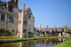 Hever城堡,肯特,英国 库存照片