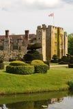 Hever Castle. Kent, United Kingdom - childhood home of Anne Boylen Stock Images