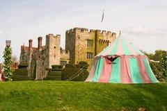 Hever Castle. Kent, United Kingdom - childhood home of Anne Boylen Royalty Free Stock Image