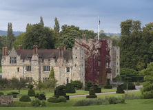 Hever Castle. And gardens, Kent, England Stock Images