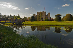 Hever Castle on a beautiful day Stock Image