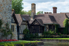 Hever Castle Cottages Royalty Free Stock Photos