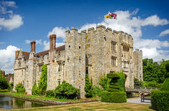 Hever Castle in England Stock Photo