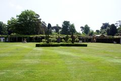 Hever castle garden in England Stock Photography