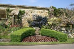 Hever Castle garden in Hever, Edenbridge, Kent, England, Europe Royalty Free Stock Photo