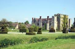 Hever castle and garden in Spring season, England Royalty Free Stock Photography