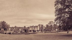 Hever Castle and gardens in Kent Royalty Free Stock Photos