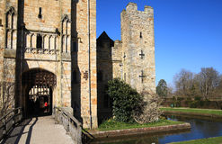 HEVER CASTLE AND GARDENS, KENT, Stock Image
