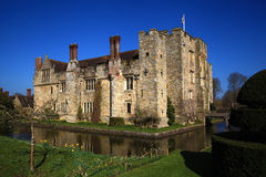 HEVER CASTLE AND GARDENS, KENT, Stock Photo