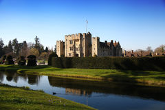 HEVER CASTLE AND GARDENS, KENT,  UK - MARCH Royalty Free Stock Photos