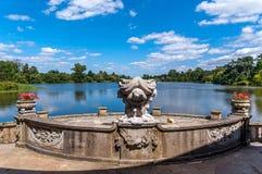 Hever Castle Gardens Stock Photos