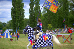 Hever Castle Jousting Tournament Royalty Free Stock Photography